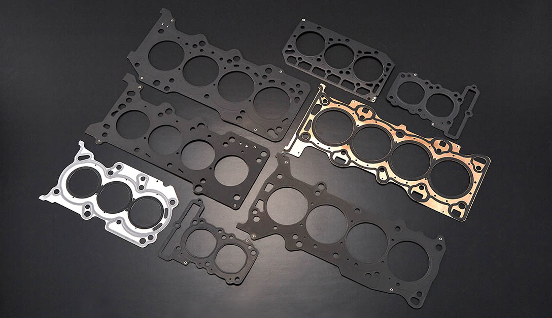 Cylinder head gaskets of various shapes