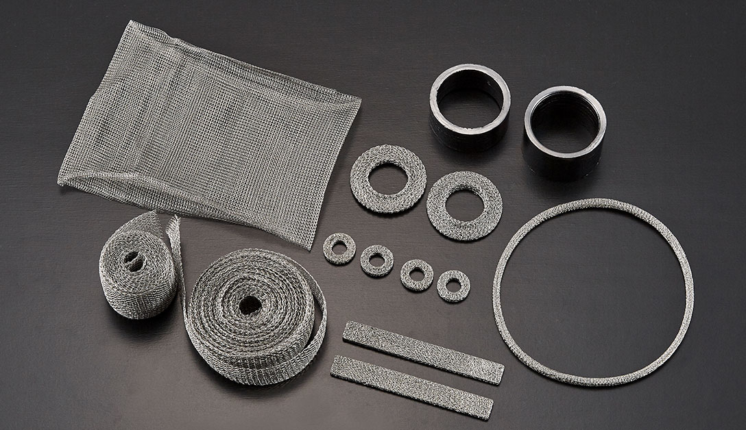 Mesh products of various shapes